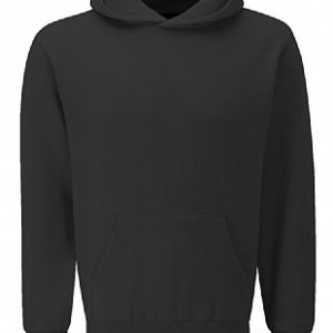 3SH Banner select hooded sweatshirt black