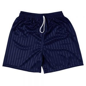 Shadow Stripe PE Shorts - Navy Blue