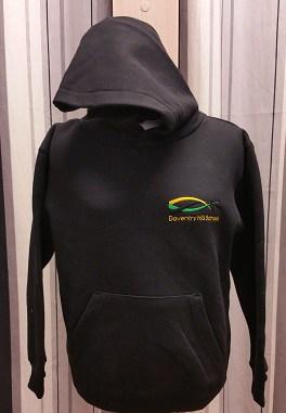 Daventry Hill School Badged Black PE Hoodie