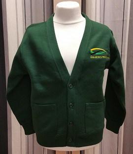 Daventry Hill Secondary School Badged Sweatshirt Cardigan