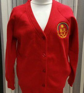Long Buckby Infant School Sweatshirt Cardigan