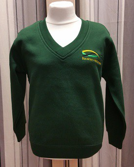 Daventry Hill Secondary School V Neck Badged Sweatshirt